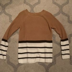 NET Staccato Striped Sweater